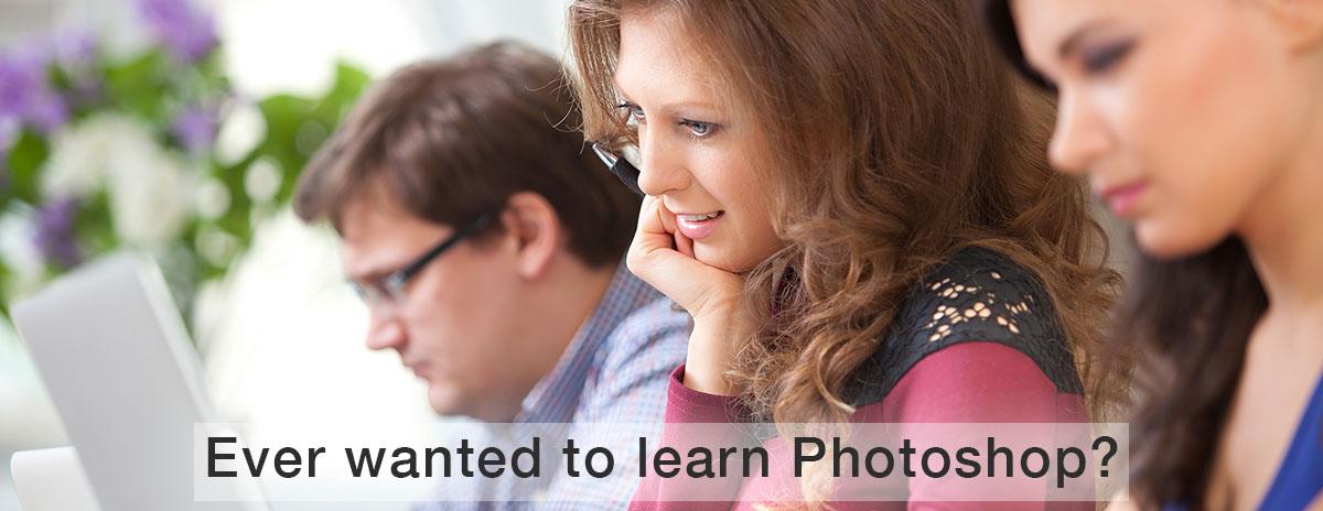 3 people learning photoshop