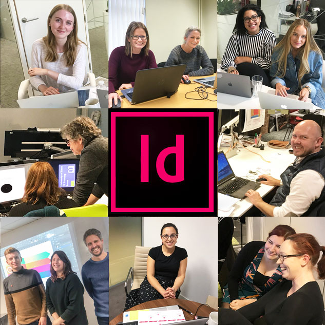 Indesign clients 8 and id logo